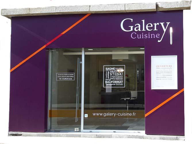 Magasin Galery Cuisine à Quimper